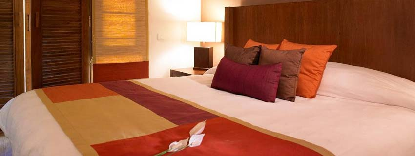 Rooms at Angsana Spa Resort, Bangalore