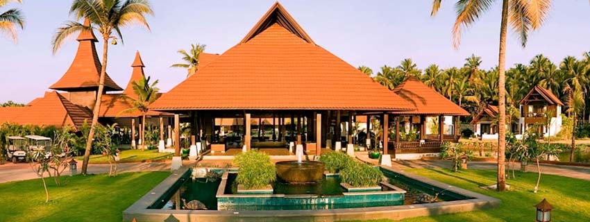 Outside View of The Lalit Resort and Spa, Kerala