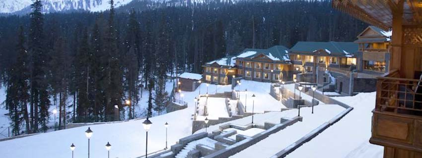 Outside View of Khyber Himalayan Resort
