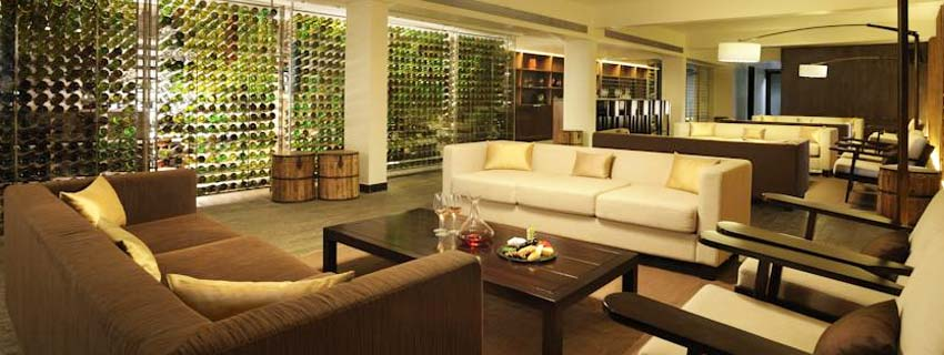 Sitting Area at Hilton Shillim Estate Retreat and Spa in Pune