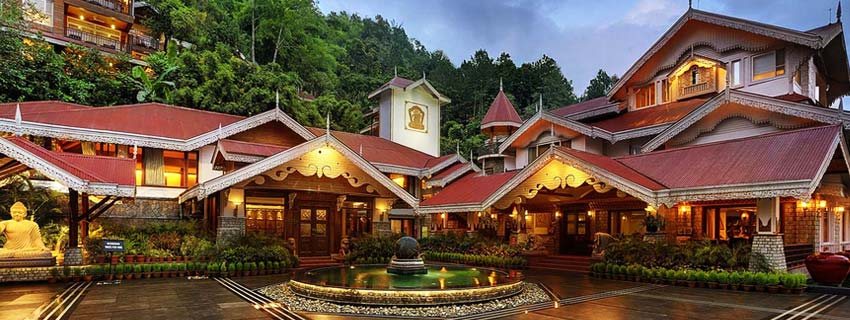Outside View of Mayfair Spa Resort