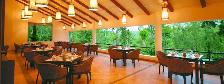 Dining Area at The Windflower resort and Spa, Coorg
