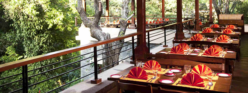 Restaurant at Orange Country,Coorg