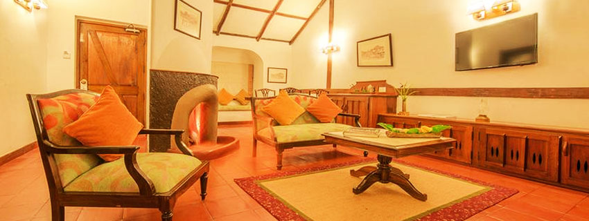 Living Area at Orange Country,Coorg