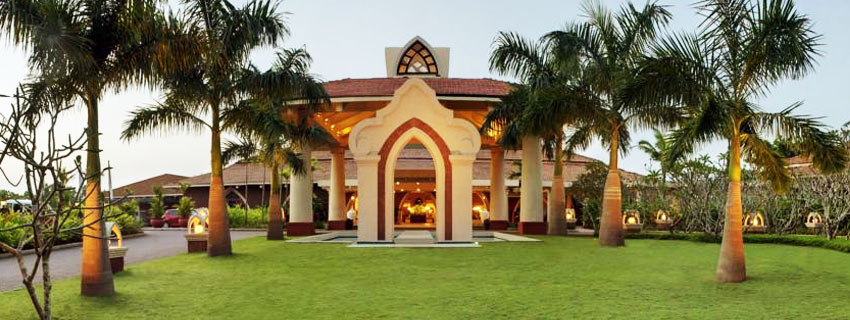 Outside View of Ramada Caravela Beach Resort, Goa