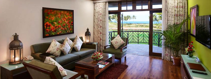 Sitting Area at Ramada Caravela Beach Resort, Goa
