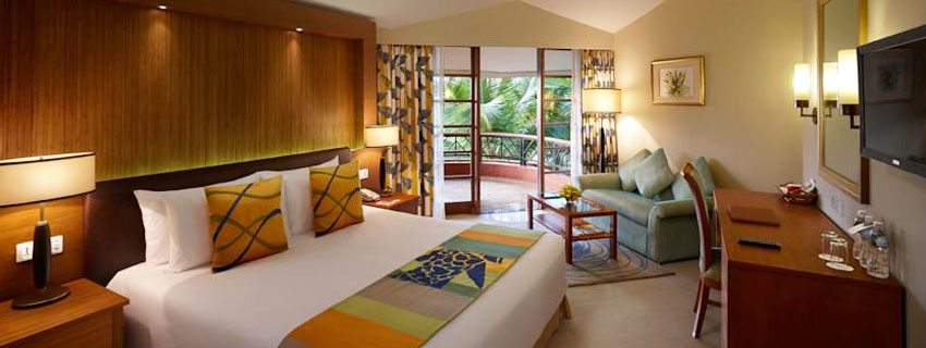 Rooms at Ramada Caravela Beach Resort, Goa
