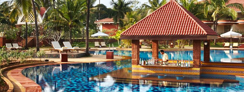 Swimming Pool at Ramada Caravela Beach Resort, Goa