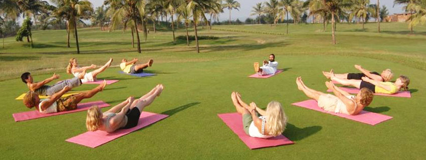 Yoga Sessions at Ramada Caravela Beach Resort, Goa