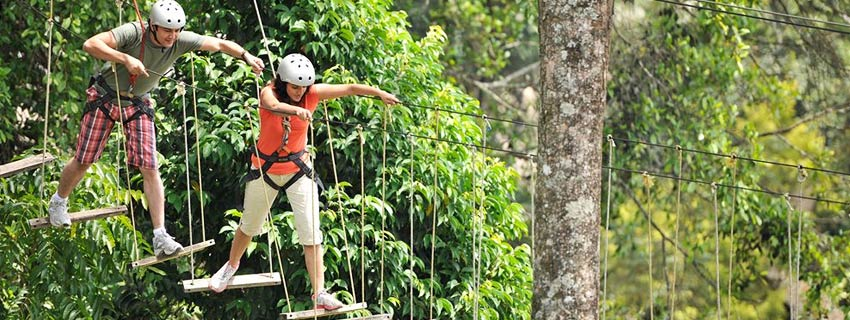 adventure activities near Club Mahindra, Kerala
