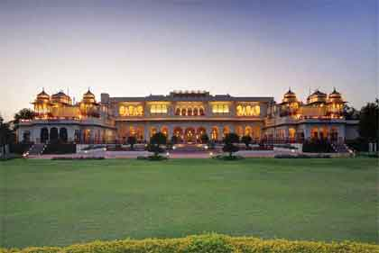 Taj Rambagh Palace in Jaipur