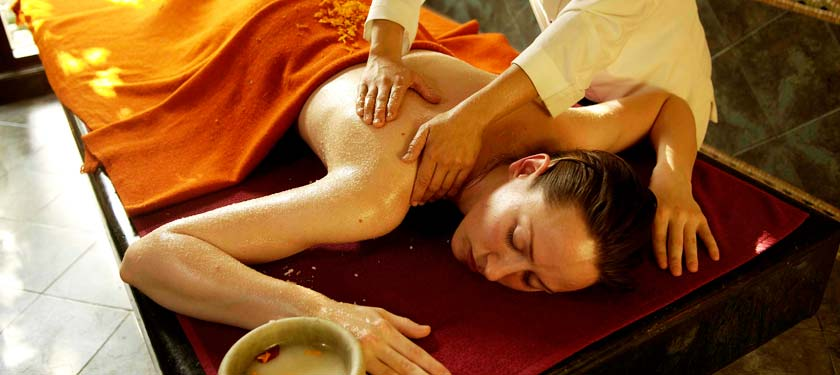 Ayurveda treatment at Ananda in Himalayas