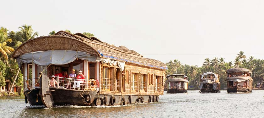 Outside View of Vrinda Luxury Backwater Cruise