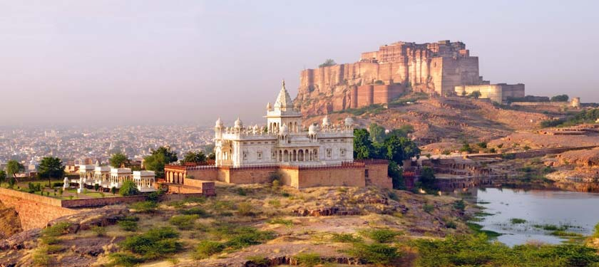 Outside View of Mehrangarh Fort
