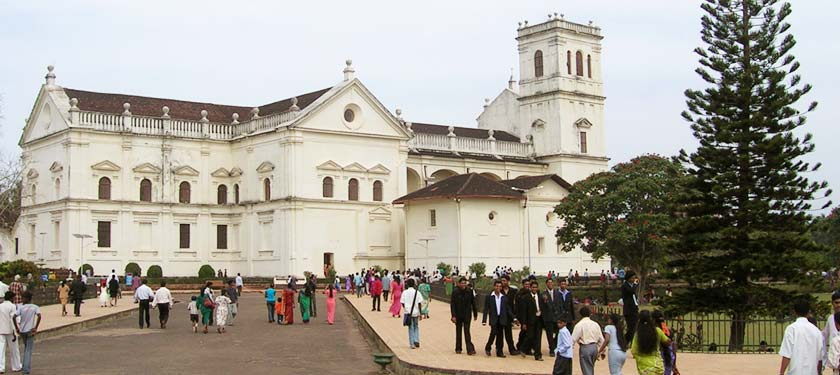 St Francis Of Assisi Church in Goa