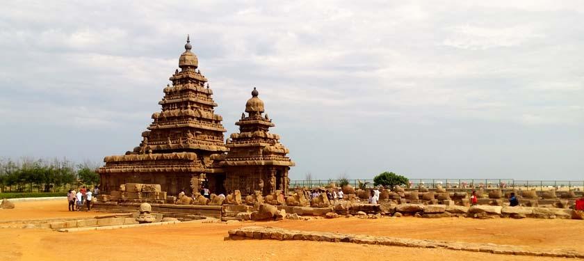 Shore Temple in Tamilnadu