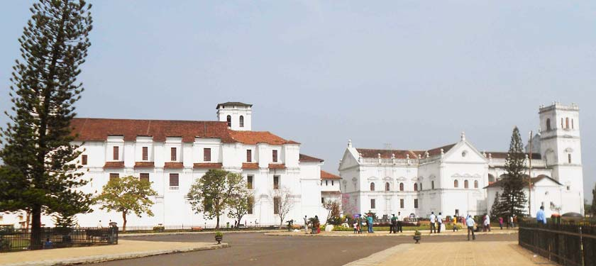 Church of St.-Francis of Asisisi in Goa