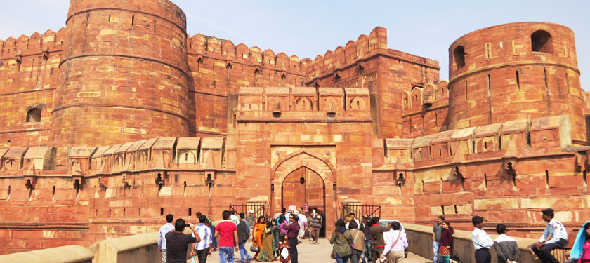 Agra Fort in Agra