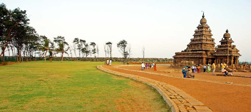 Shore Temple in Mahabalipuaram