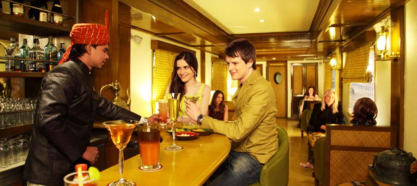 Wine and Dine at Maharajas Express Luxury Train