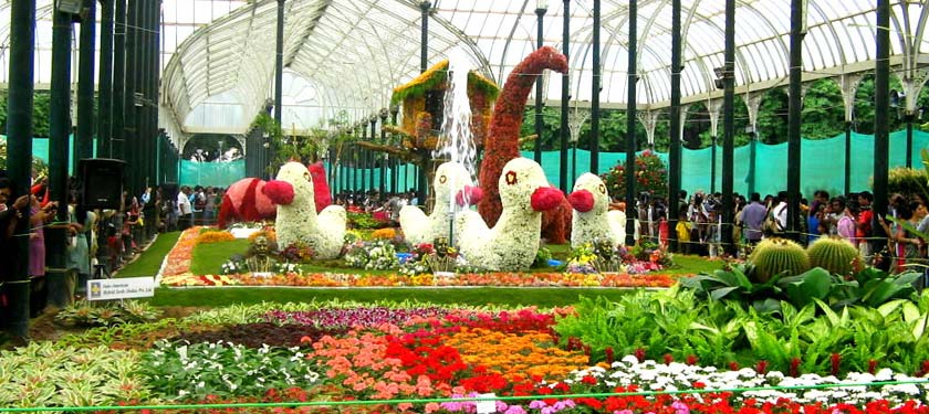 Lal Bagh in Bangalore