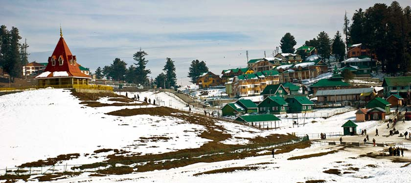 Scenic View of Gulmarg