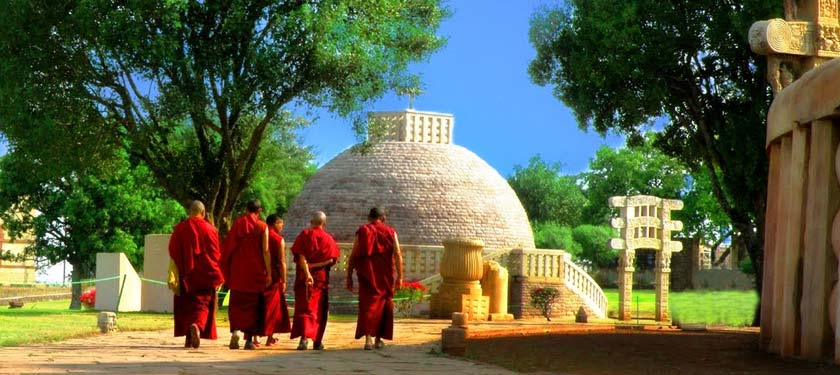 Sanchi Stupa in Mdhya Pradesh