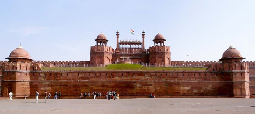 Outside View of Red Fort
