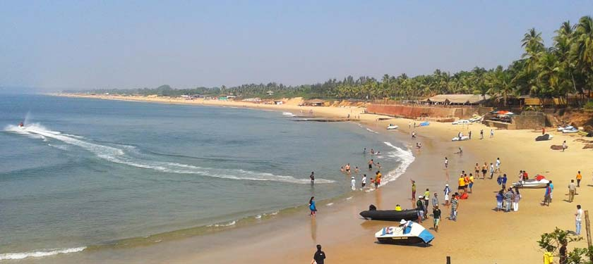 Condolim Beach in Goa