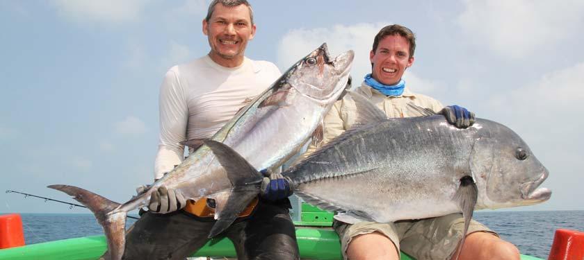 Fishing at Agatti Island