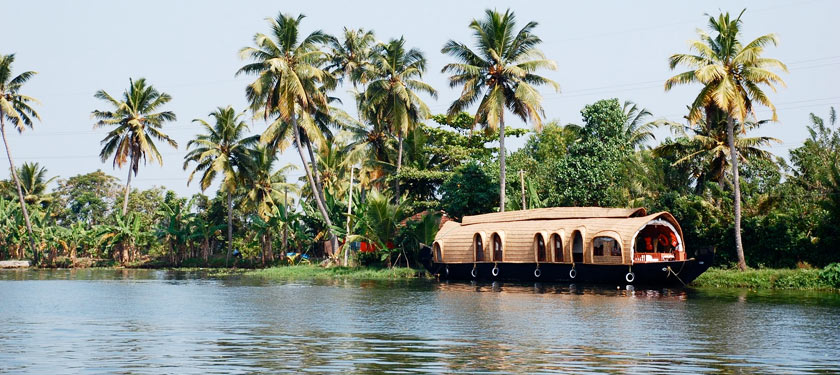 Backwater Tour in Alleppey