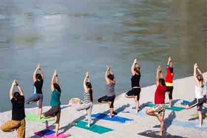 Yoga and Meditation Tour Package with Taj and Ganges
