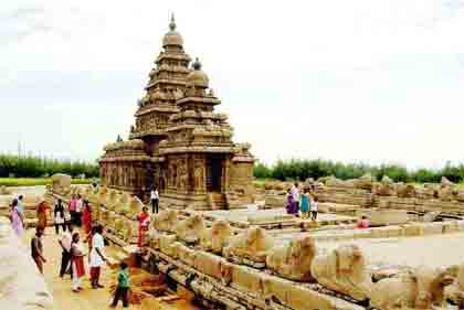 Golden Triangle with Temples of Tamil Nadu Package